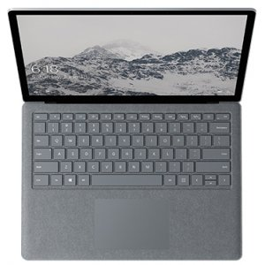 "Ноутбук Microsoft Surface Laptop (Intel Core i5 7200U 2500 MHz/13.5""/2256x1504/4Gb/128Gb SSD/DVD нет/Intel HD Graphics 620/Wi-Fi/Bluetooth/Windows 10 Pro) Platinum"
