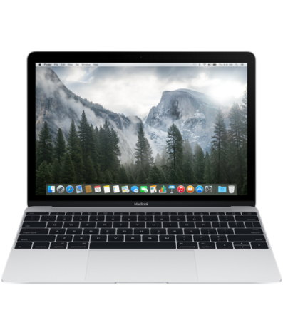 "Apple MacBook 12 with Retina display 2016 MLHC2 Silver(Core M5 1200 Mhz, 12"", 2304x1440, 8192Mb, 512Gb SSD, DVD нет, Wi-Fi, Bluetooth, MacOS X)"