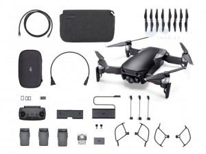 Квадрокоптер DJI Mavic Air Fly More Combo Onyx black черный
