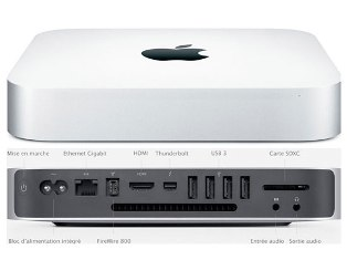 Неттоп Apple Mac mini Z0R70001J (i5-2.6GHz/8GB/256GB ssd) Системный блок