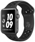 Часы Apple Watch Series 3 Nike+ MQL42 42mm Space Gray Aluminum Case with Anthracite/Black Nike Sport Band
